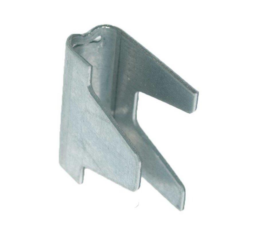Vertex clips (inox) de montage de gabions ou panneaux en treillis