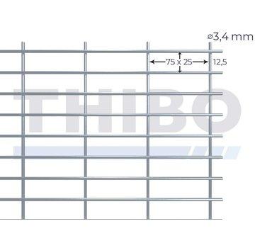 Thibo Gaaspaneel 2,5 x 2  meter - 75 x 25 x 3,4 mm