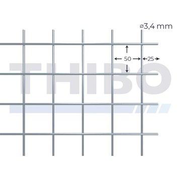 Stahlmat 3600x2100 mm - 50x50x3,4 mm