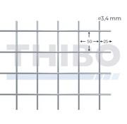 Stahlmat 2500x2000 mm - 50x50x3,4 mm