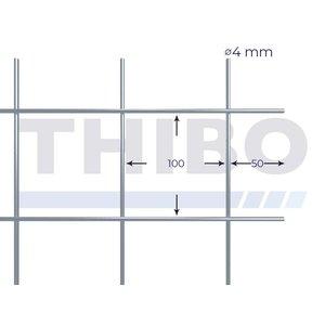 Mesh panel 2100x2100 mm - 100x100x4,0 mm
