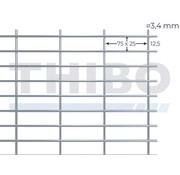 Stahlmat 2500x2000 mm - 75x25x3,4 mm
