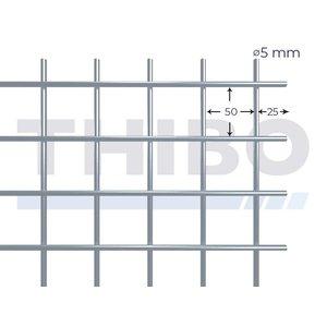 Mesh panel 3000x1000 mm - 50x50x5,0 mm