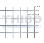 Stahlmat 5000x2000 mm - 50x50x5,0 mm