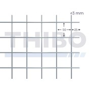 Thibo Stahlmat 3000x1500 mm - 50x50x3,0 mm