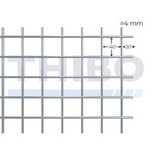 Mesh panel 3000x1500 mm - 40x40x4,0 mm