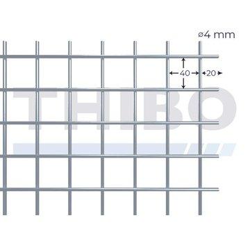 Thibo Mesh panel 5000x2000 mm - 40x40x4,0 mm