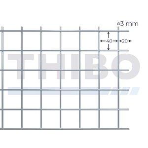 Stahlmat 3000x1000 mm - 40x40x3,0 mm
