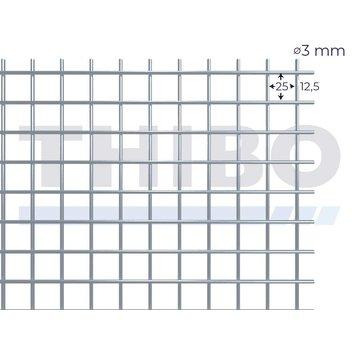 Thibo Stahlmat 3000x1000 mm - 25x25x3,0 mm