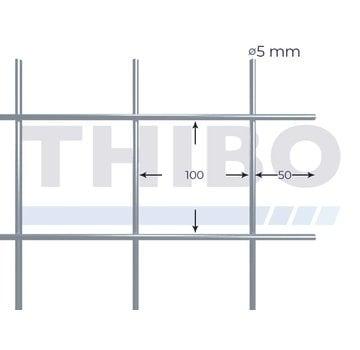 Thibo Gaaspaneel 3 x 2 meter - 100 x 100 x 5,0 mm