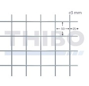 Thibo Cementdekvloernet, 3 x 2 meter - 50 x 50 x 3,0 mm
