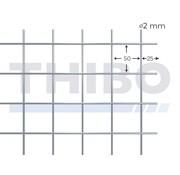 Cementdekvloernet, 2000x1000 mm - 50x50x2,0 mm