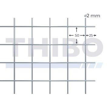 Thibo Mesh panel 2000x1000 mm - 50x50x2,0 mm