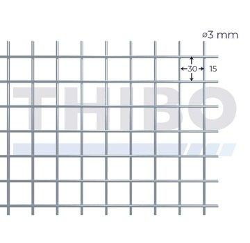 Thibo Mesh panel 3000x1000 mm - 30x30x3,0 mm