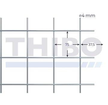 Thibo Stahlmat 2100x2100 mm - 75x75x4,0 mm