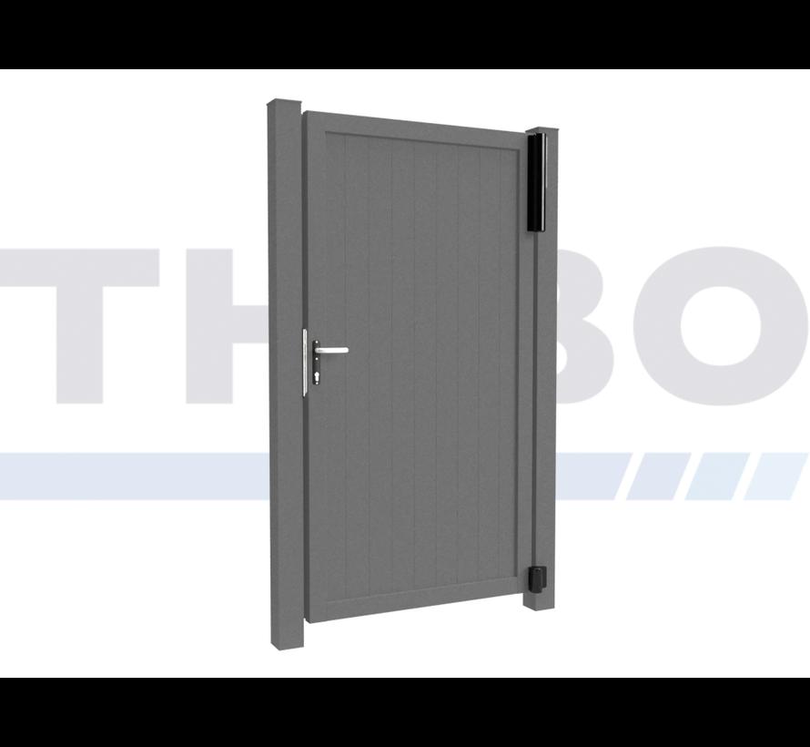 Portail pivotant design Modius Trento V10 simple