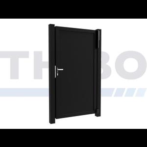 Hitmetal Portail pivotant simple Modius Trento V10