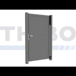 Hitmetal Portail pivotant simple Modius Trento H20
