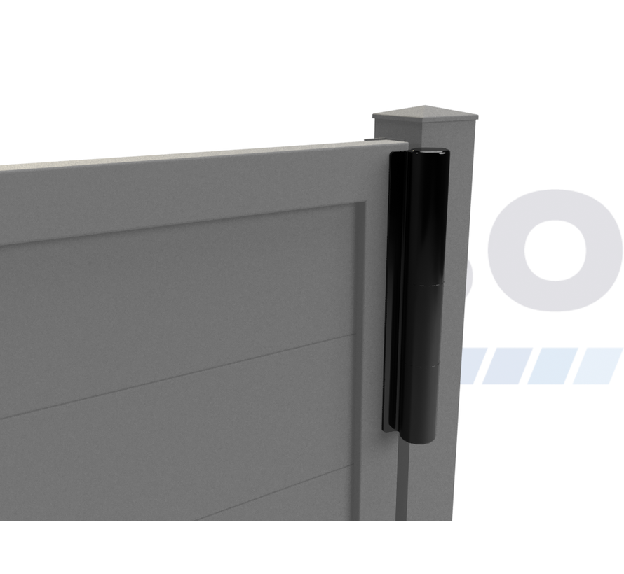 Enkele design draaipoort Modius Trento H20