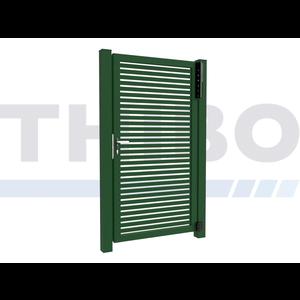 Hitmetal Portail pivotant simple Modius Trento H40