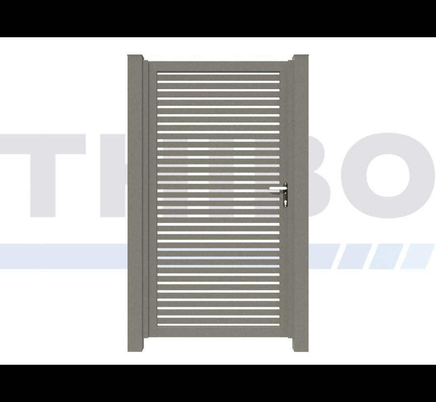 Einfaches design Drehtor Modius Trento H40