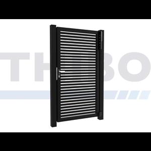 Hitmetal Single swing gate Modius Trento H40