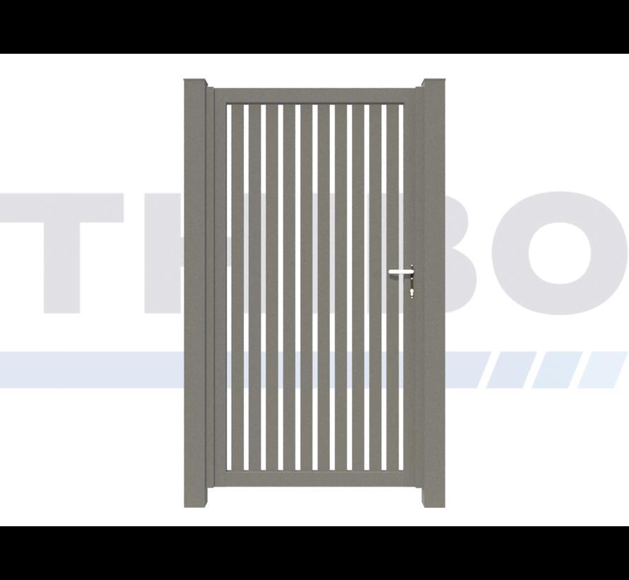 Single design Swing gate Modius Trento V60