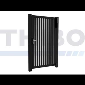 Hitmetal Portail pivotant simple Modius Trento V60