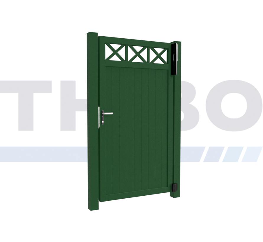 Single design Swing gate Modius Crosso V10