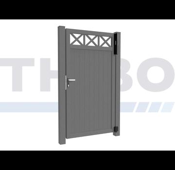 Modius Single swing gate Modius Crosso V10