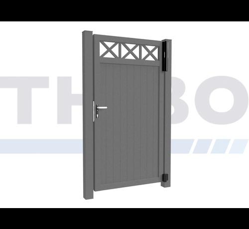 Modius Single design Swing gate Modius Crosso V10