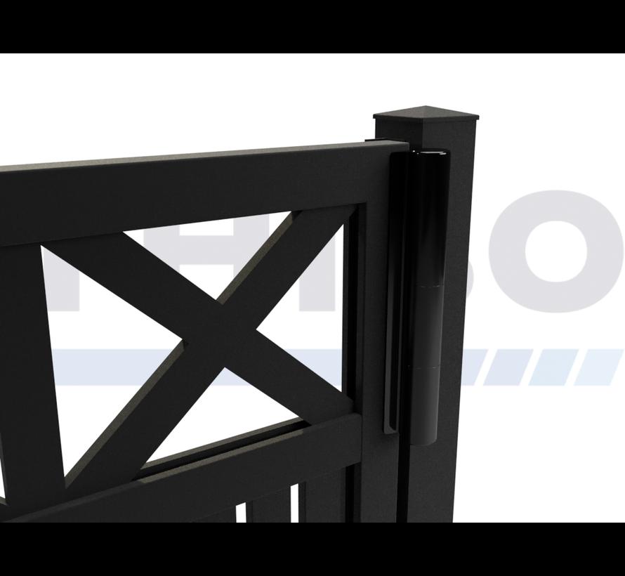 Portail pivotant design Modius Crosso V60 simple