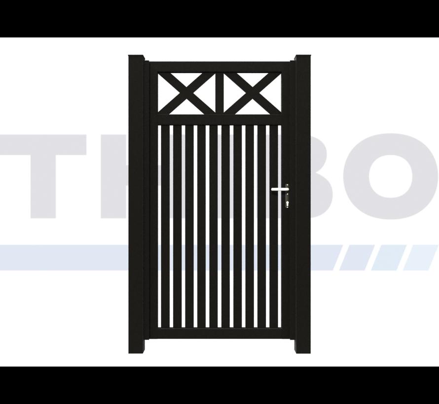 Single design Swing gate Modius Crosso V60