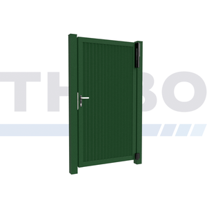 Hitmetal Single swing gate Modius Modeno V60
