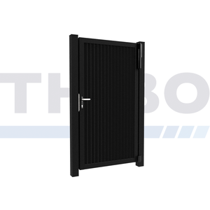 Hitmetal Portail pivotant simple Modius Modeno V60