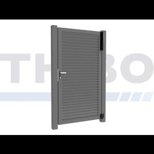 Hitmetal Portail pivotant simple Modius Modeno H60