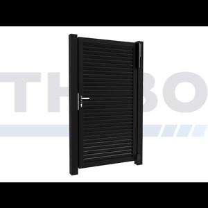 Hitmetal Single swing gate Modius Modeno H60