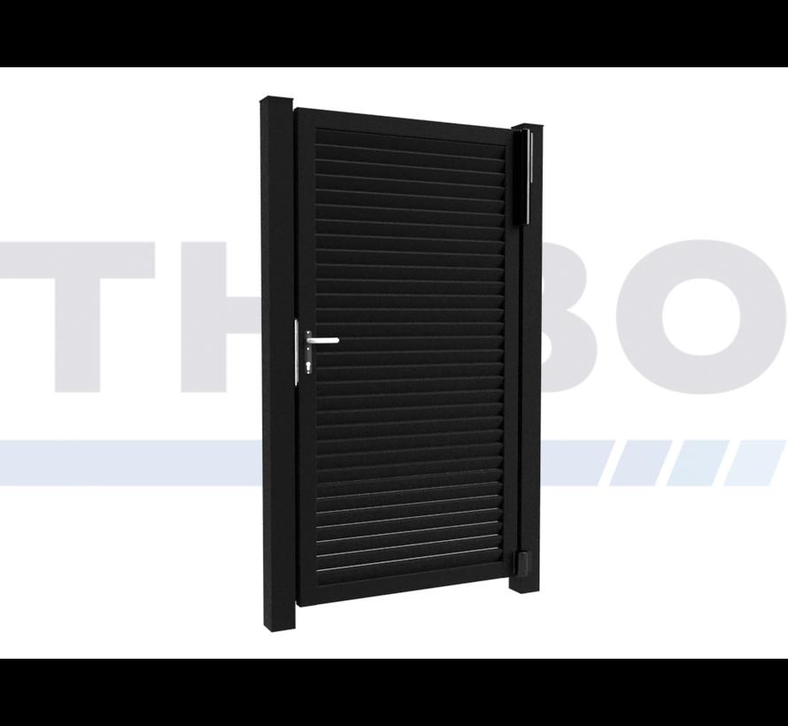 Einfaches design Drehtor Modius Modeno H60