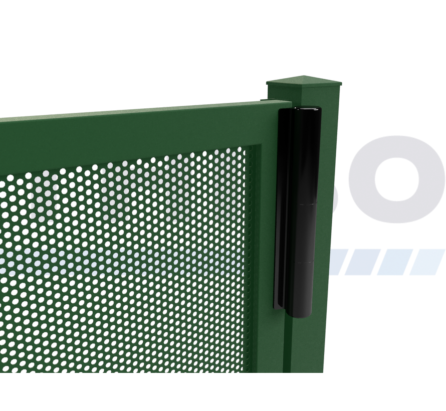 Portail pivotant design Modius Polkadot R10 simple