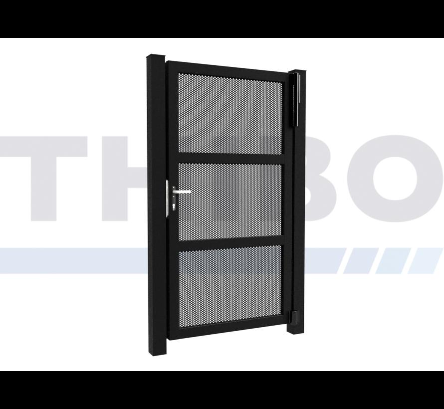 Single design Swing gate Modius Polkadot R10