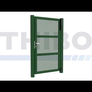 Hitmetal Single swing gate Modius Carré K10