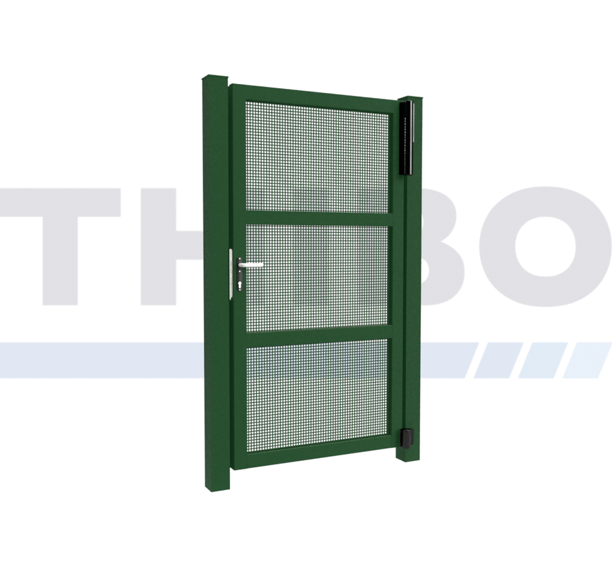 Single design Swing gate Modius Carré K10