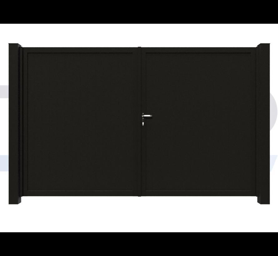 Dubbele design draaipoort Modius Trento V10
