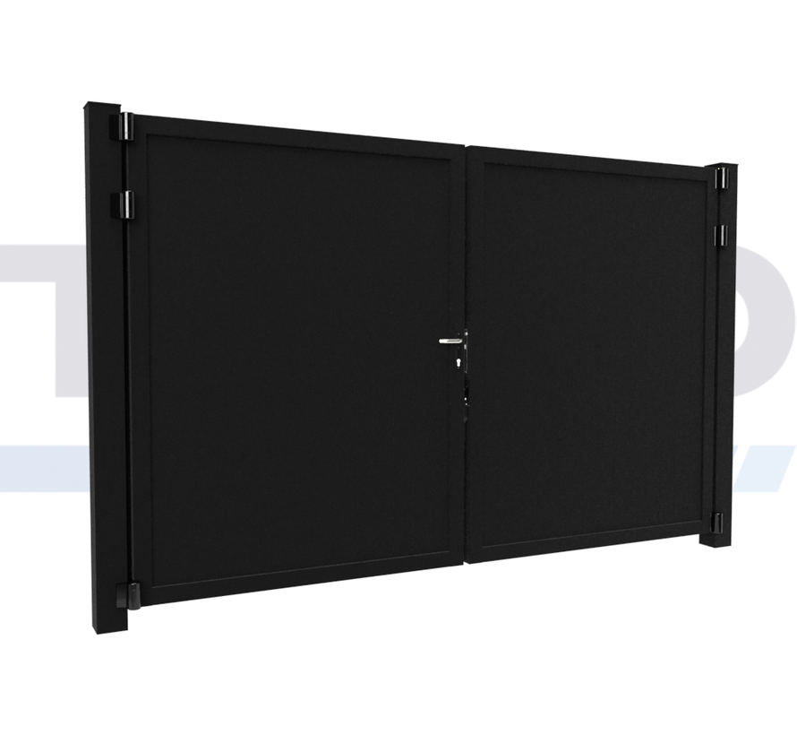 Double design Swing gate Modius Trento V10