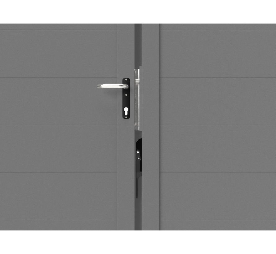 Dubbele design draaipoort Modius Trento H20