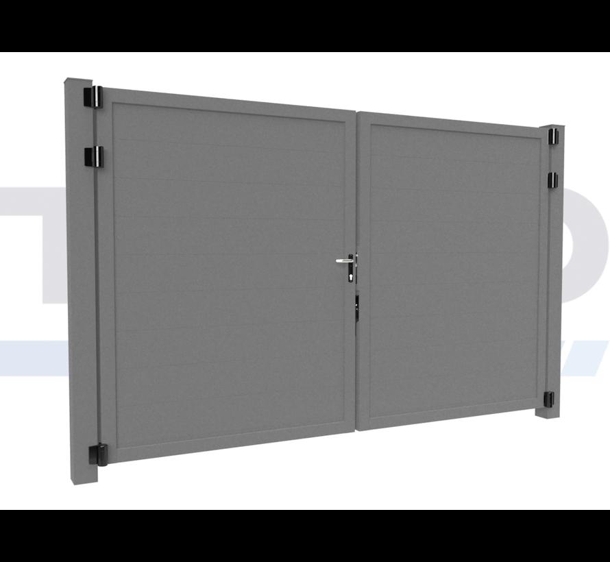 Double design Swing gate Modius Trento H20
