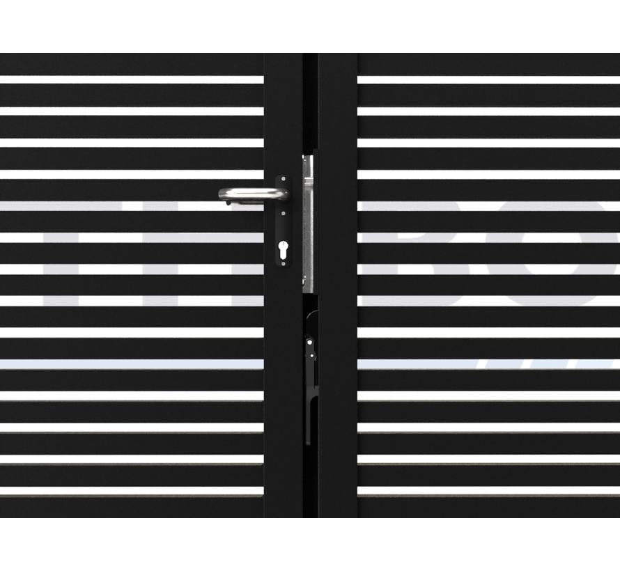 Doppeltes design Drehtor Modius Trento H40