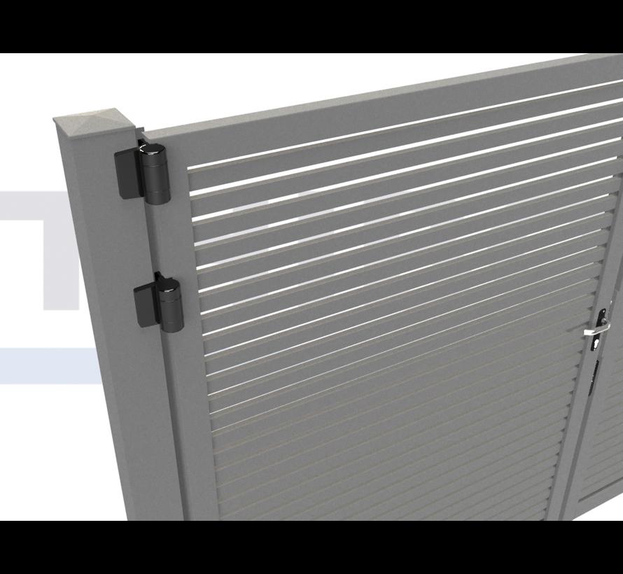 Double design Swing gate Modius Trento H40