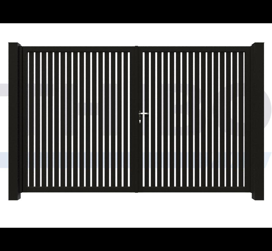 Double design Swing gate Modius Trento V60