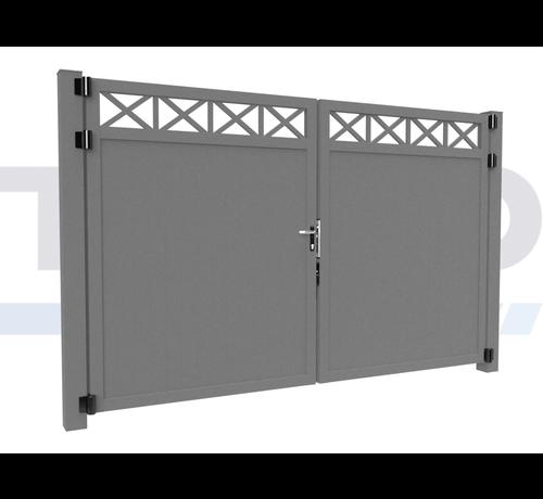 Modius Double design Swing gate Modius Crosso V10
